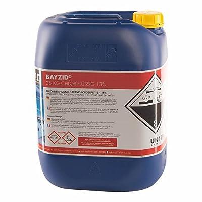 1 bidon de 25 kg Chlore liquide 48°