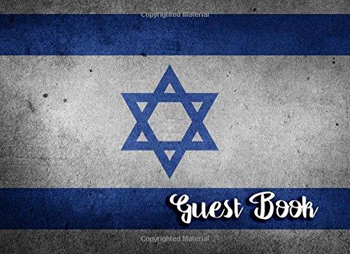 ned Guest Book - For Bar Mitzvah or Bat Mitzvah Ceremonies (Bar Bat Mitzvah Ceremony)