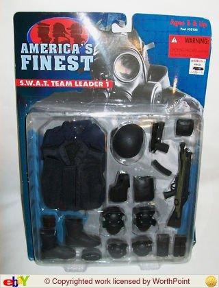 Americas Finest SWAT Team Leader 1 set -