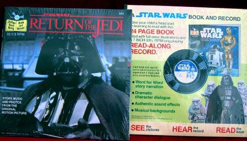 Star Wars - Return of the Jedi -( Book & 7 Inch 331/3 rpm LP Read Along -
