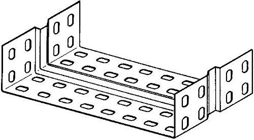 Niedax Verbinder RV 60.100 RL Verbinder f/ür Kabeltragsystem 4013339271702