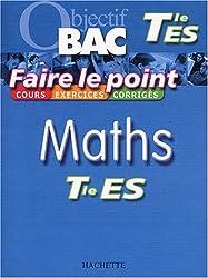 Faire le point : Maths, terminale ES