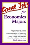 Great Jobs for Economics Majors, Camenson, Blythe, 0658002228