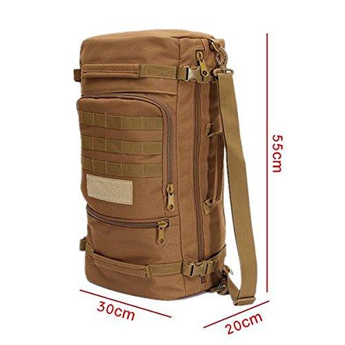 CAMTOA Military Tactical 45L Backpack Daypack S...
