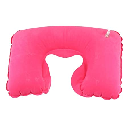 Compia - Almohada hinchable de aire en forma de U para el cuello ...
