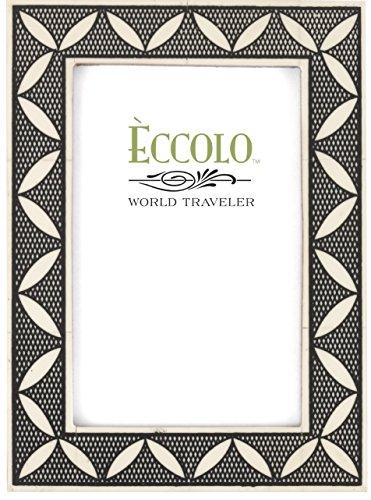 Eccolo World Traveler Naturals Wood Photo Frame, 5 x 7