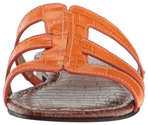 Sam Edelman Frauen Berit Slide Sandale Klassische Orange