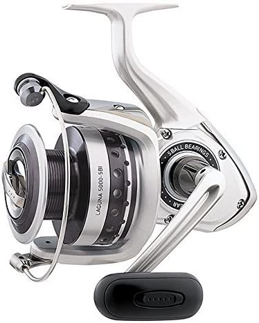 BY_DAIWA Heavy Spinning Carrete, Laguna 5-bb 1-rb aluminio ligero ...
