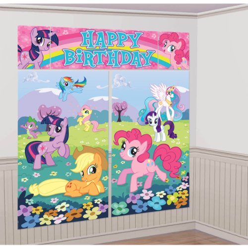 My Little Pony Scene Setter Room Decoration - My Little Pony Party Supplies