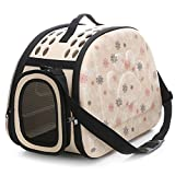 Ocamo Pet Carrier Stylish Quilted Soft Sided Travel Dog Cat Puppy Small Animals