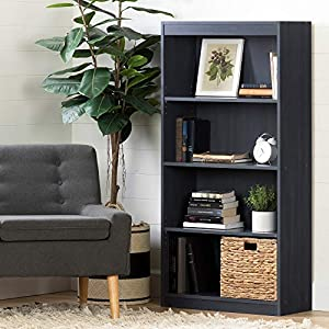 South Shore 4-Shelf Storage Bookcase