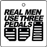 AAF-Popular Ambientador De Coche Real Men Use Three Pedals