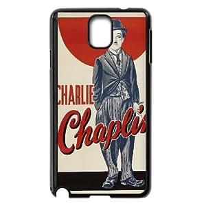 Samsung Galaxy Note 3 Cell Phone Case Black Charlie Chaplin Vintage Unique Phone Case For Men CZOIEQWMXN23443