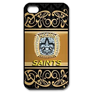 meilinF000NFL Superbowl New Orleans Saints Team Logo ipod touch 5 Durable and lightweight Cover CasemeilinF000