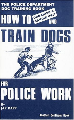 how to train a dog to be a police dog
