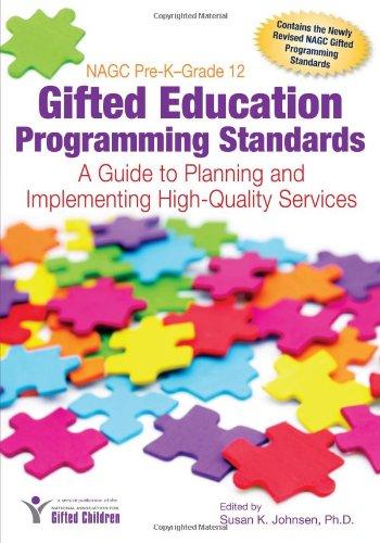 NAGC Pre-K-Grade 12 Gifted Education Programming...