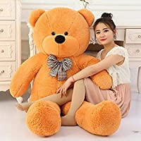 OSJS Jms Giant Teddy Soft Toy for Kids Lovable Special Gifts Brown 3 Feet (91 Cm)