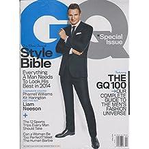 GQ April 2014 Liam Neeson Style Bible