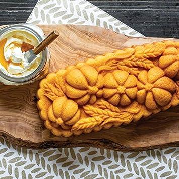 Nordic Ware Wheat Pumpkin Pan