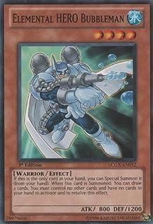 Common SOI-EN004 Elemental Hero Neo Bubbleman YuGiOh Shadow of Infinity