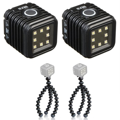 LITRA LitraTorch Photo and Video Light with Joby Gorillapod Flexible Mini-Tripod ( 2 Pack) by Litra