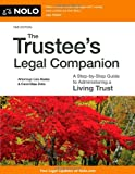 The Trustee's Legal Companion, Liza Hanks and Carol Elias Zolla, 1413317707