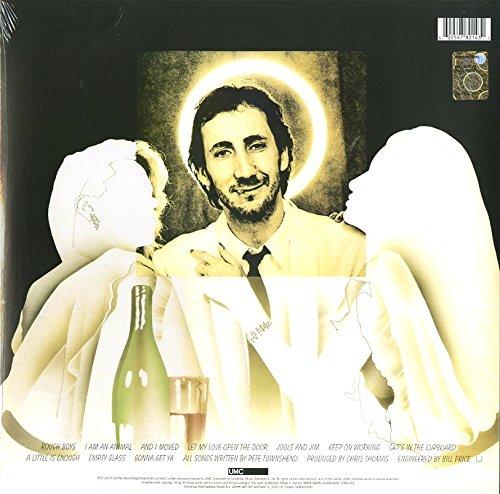 Fast Color Pete Townshend Chinese Eyes Original 1982 Atco Records Promo Poster!! Entertainment Memorabilia