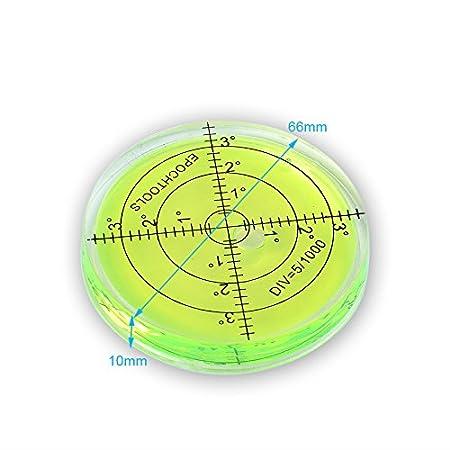 10 marcadores de nivel de burbuja de burbuja, 106 mm ...