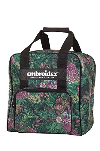 Embroidex Floral Serger/Overlock Carrying Case - Carry Tote/Bag Universal ()