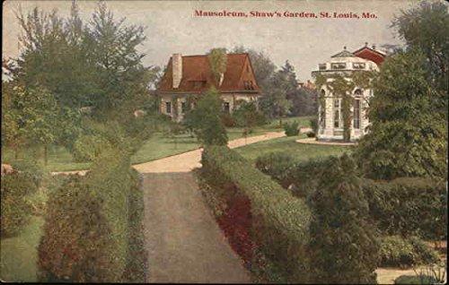Shaws Garden Louis - Mausoleum, Shaw's Garden St. Louis, Missouri Original Vintage Postcard