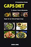 img - for GAPS DIET: 30 Nutrient-Dense Recipes to Alleviate Chronic Inflammation, Repair the Gut Wall, and Regain Energy (The Gut Repair Book Series Book) book / textbook / text book