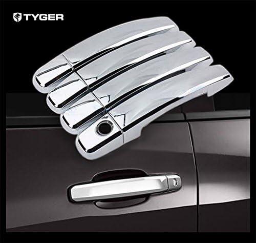 MaxMate Fits 04-13 Chevy Colorado//GMC Canyon Chrome 4 Doors Handle Cover W//O Passenger Side Keyhole