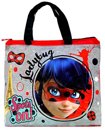 Beach Bag, Swimming Bag,Ladybug Miraculous Bag,Official Licensed.