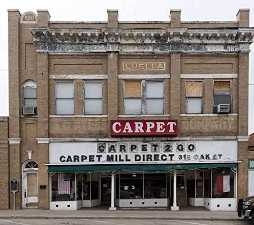 Sweetwater, TX Photo - A carpet store in the historic Myers Building in Sweetwater, Texas. Mayor of Sweetwater in the early 1900s, S.D. Myers, ran a saddlery in this - Store Location Myer