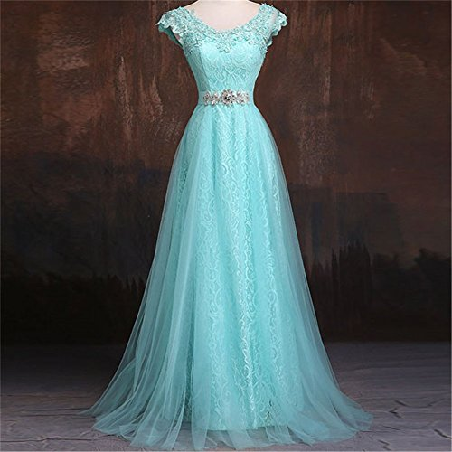 Damen Drasawee Hellblau Damen Empire Kleid Drasawee qSxZHH0E