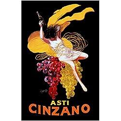 Asti Cinzano Poster, Vintage Italian Advertising Poster, Leonetto Cappiello