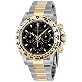 Rolex Oyster Perpetual Cosmograph Daytona 40MM Stainless Steel Case - 18K Yellow Gold Tachymeter Engraved Bezel Black Dial - Stainless Steel And 18K Yellow Gold Oysterlock Bracelet.
