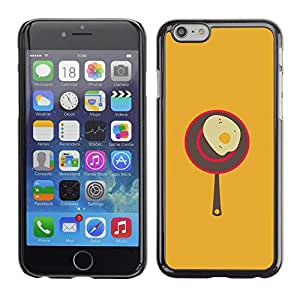 Stuss Case / Funda Carcasa protectora - Egg Cooking Food Kitchen Art Poster Vintage - Apple Iphone 6