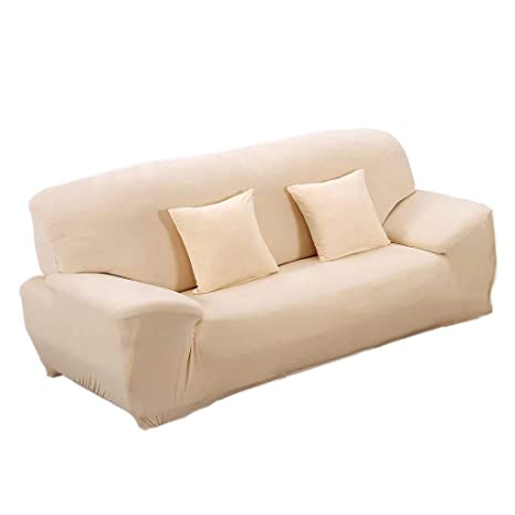 Sofa Cover - Sofa Cover Living Room Extensible Polyester ...