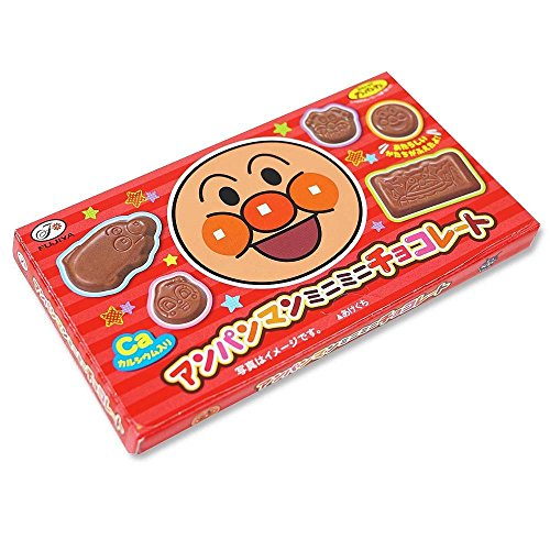 (Fujiya Anpanman mini mini Chocolate bar Dagashi snack Japan)