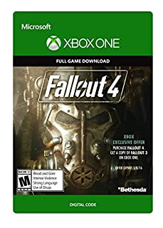 Fallout 4 - Xbox One Digital Code (B0160EMEGM) | Amazon Products