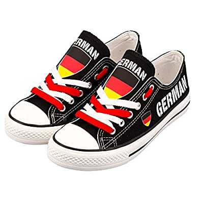 Amazon e lov printed country flags casual canvas shoes usa e lov customize printed world country canvas shoes usa germany cuban filipino french austrilian austrian gumiabroncs Image collections