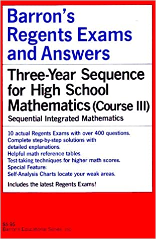 Barrons regents exams and answers sequential math course iii barrons regents exams and answers sequential math course iii paper ed edition fandeluxe Image collections