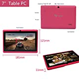 Yuntab 7 Tablet, Android 4.4, Allwinner A33 Quad Core, 8GB Storage (Pink)