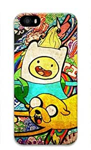 Adventure Time Cartoon-008 Iphone 5/5S Hard Protective 3D Case by eeMuse