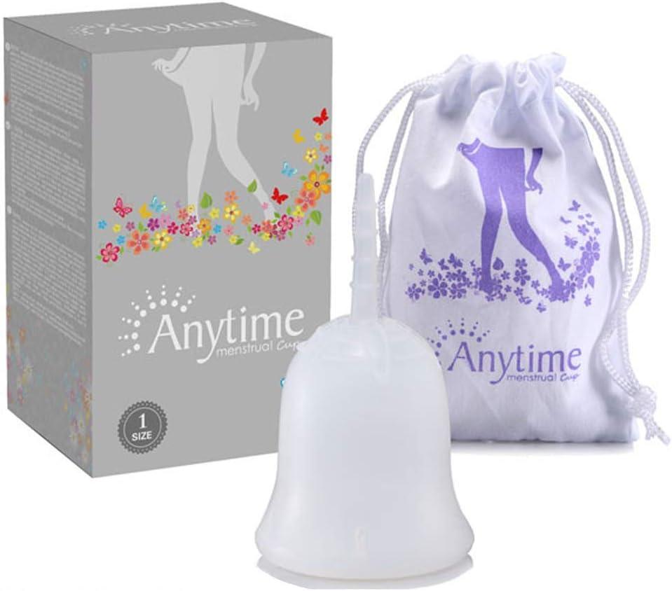 Copa Menstrual, suave al tacto, Pre y Post Parto reutilizable ...