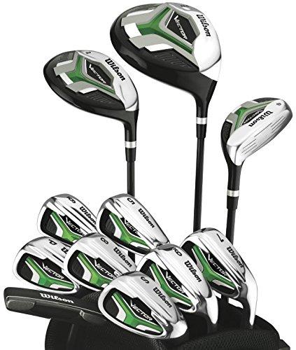 Wilson Vector HL - Juego completo de golf con palos de acero ...