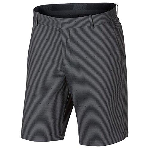 Nike Flex Slim Print Golf Shorts 2018 Dark Gray/Black 34