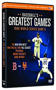 Baseball's Greatest Games: 1986 World Series Game 6 [DVD]
