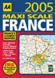 AA Maxi Scale France, Automobile Association (Great Britain), 0749542608